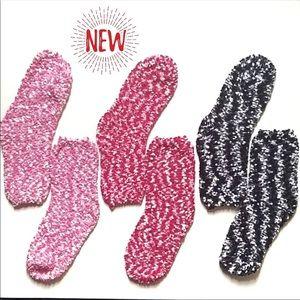 Accessories - New Arrival! Black Popcorn Socks